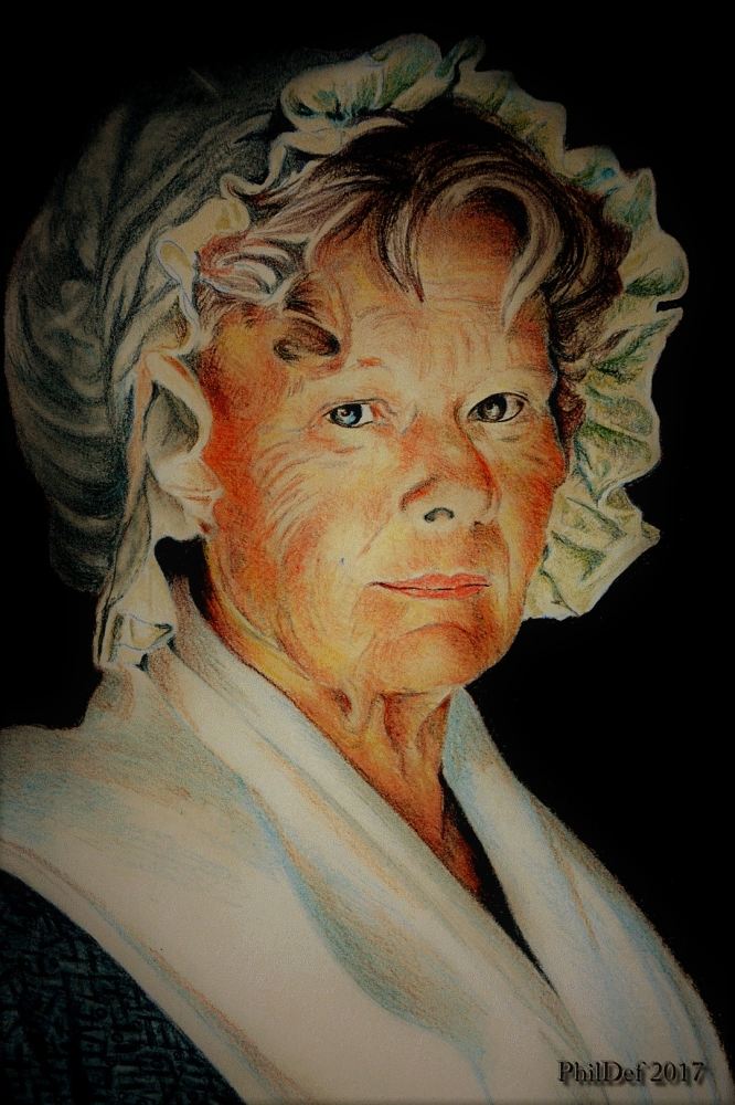 Judi Dench by Phildef